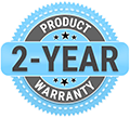 ZeroG 2-Year Product Warranty Badge image