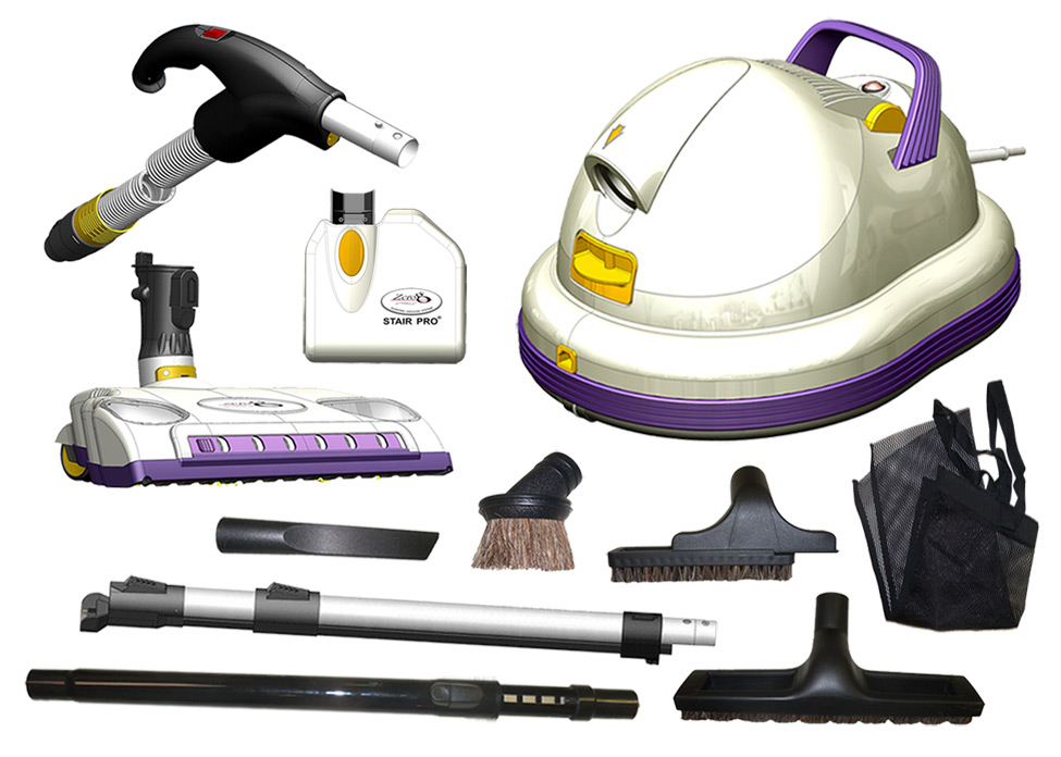 ZeroG Vacuum Cleaner with all accessories image